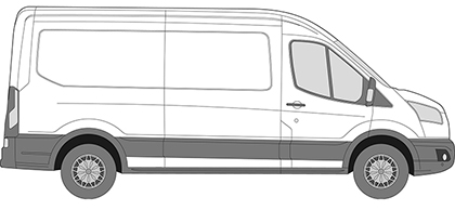 New Shape Ford Transit Glass