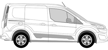 Ford Transit Connect Glass